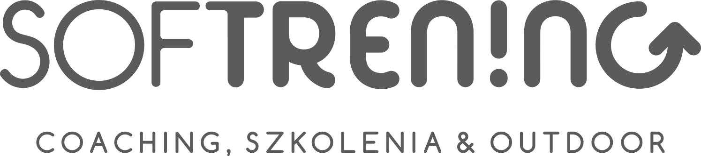 """Logo z napisem """"SOFTRENING""""."""